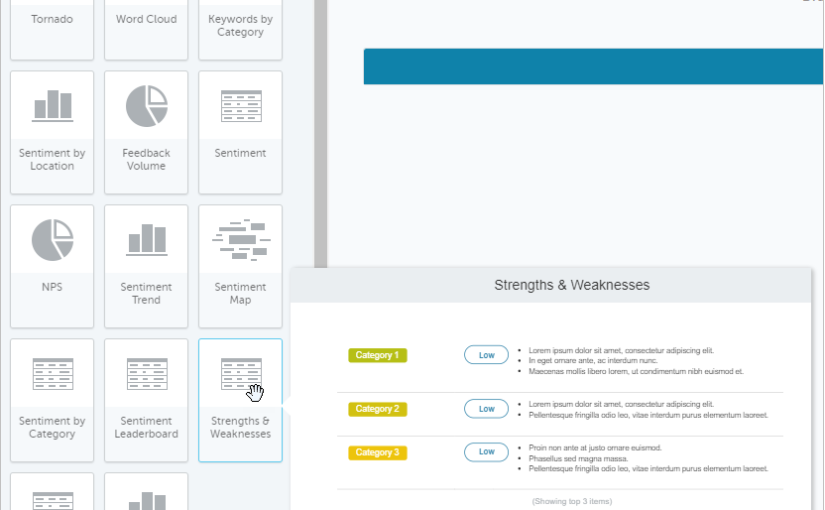 Operational Insights Report Modules