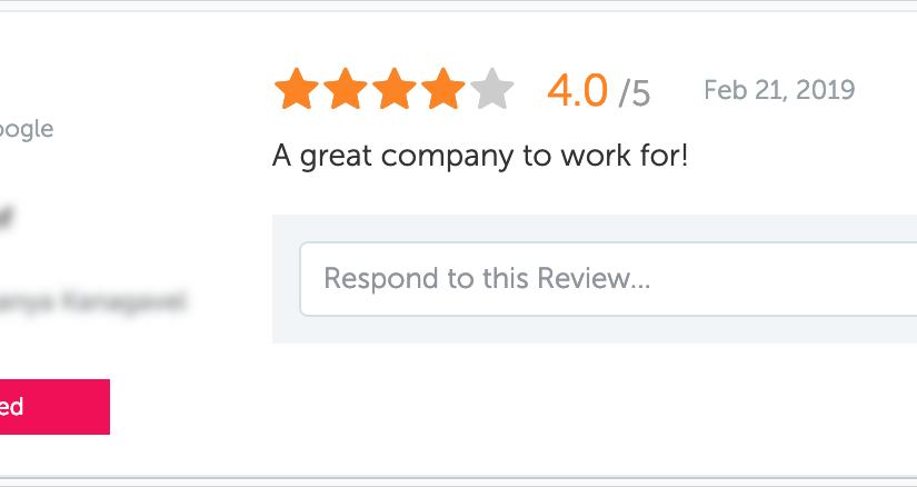 Support for Updated Reviews
