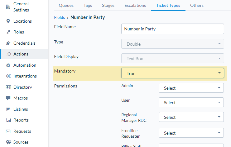Require Custom Fields for Ticket Types