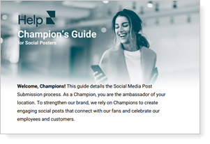 Champion's Guide for Social