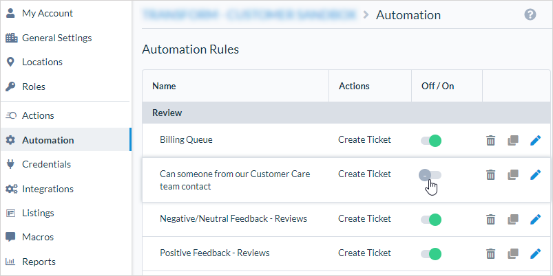 Toggle Automation Rules
