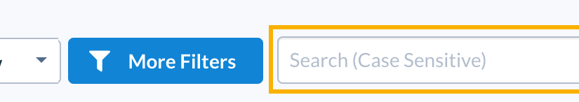 Search Functionality in Results Manager