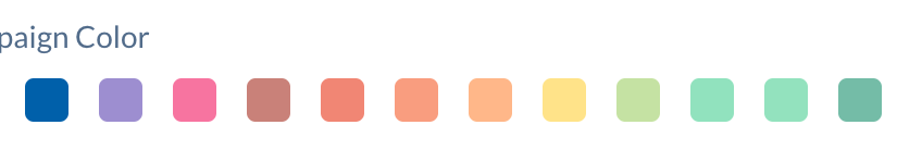 Color Selection for Social Campaigns