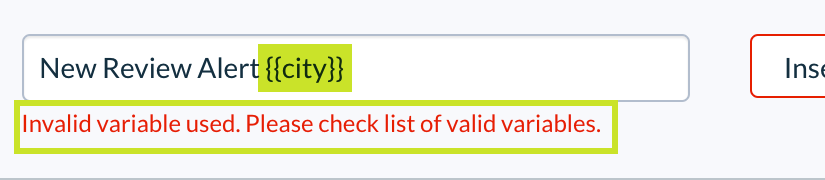 Custom Variable Support in Grouped Email Notifications