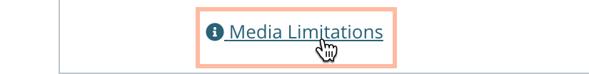 Business Listings Media Guidelines